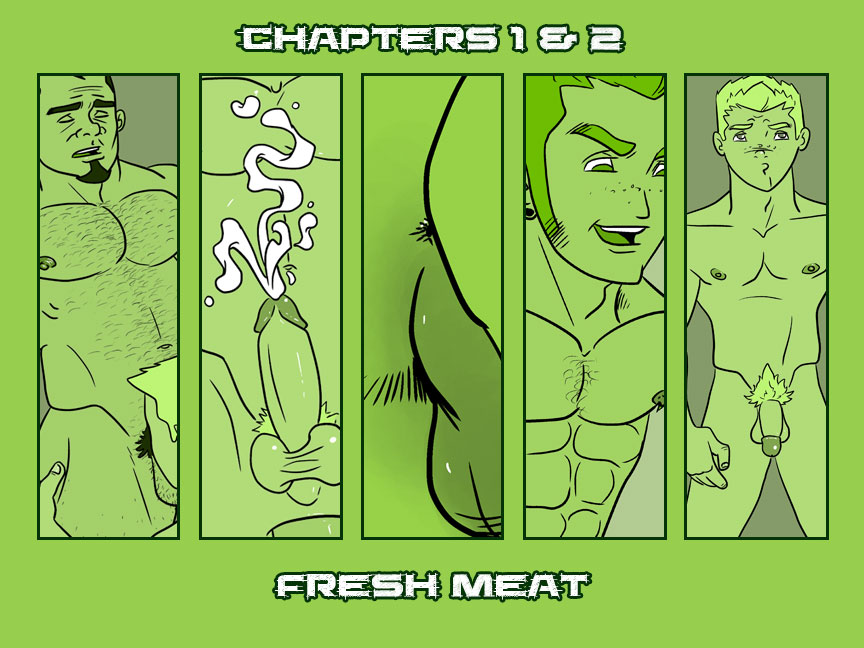Chapters 1 & 2 – Fresh Meat – Cover