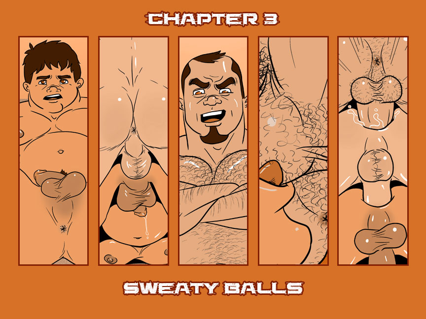 Chapter 3 – Sweaty Balls – Cover
