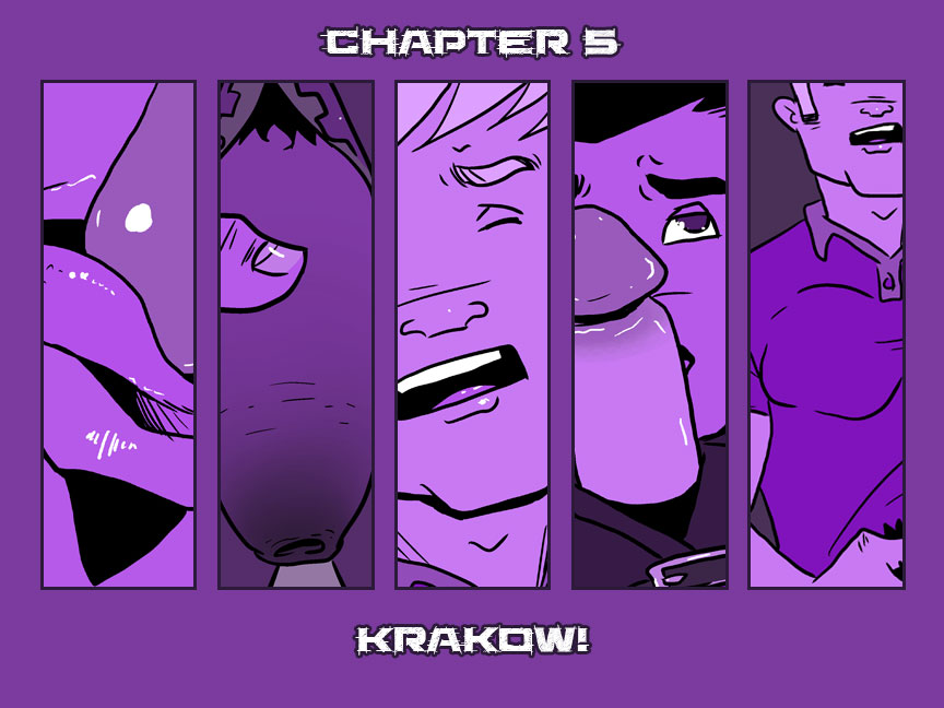 Chapter 5 – Krakow! – Cover